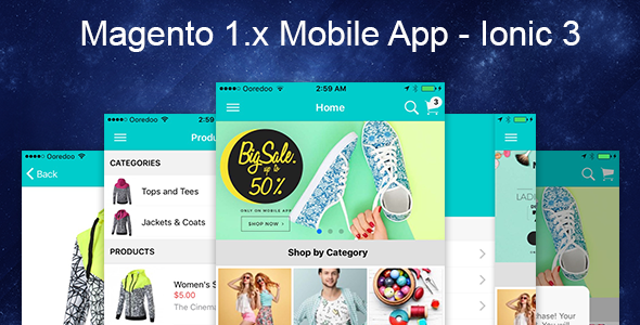 Magento Mobile App Ionic 3 - CodeCanyon Item for Sale