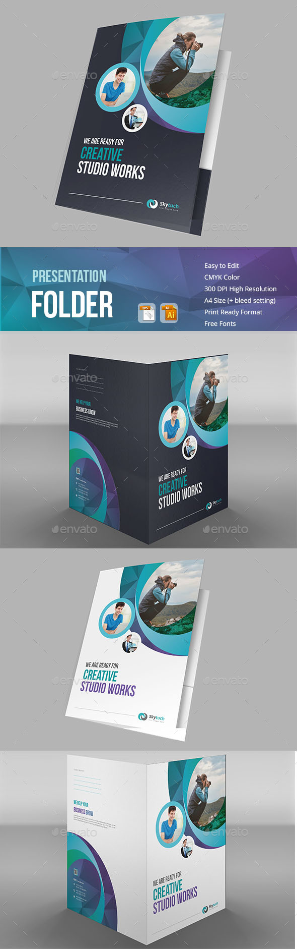 GraphicRiver Presentation Folder 20849292