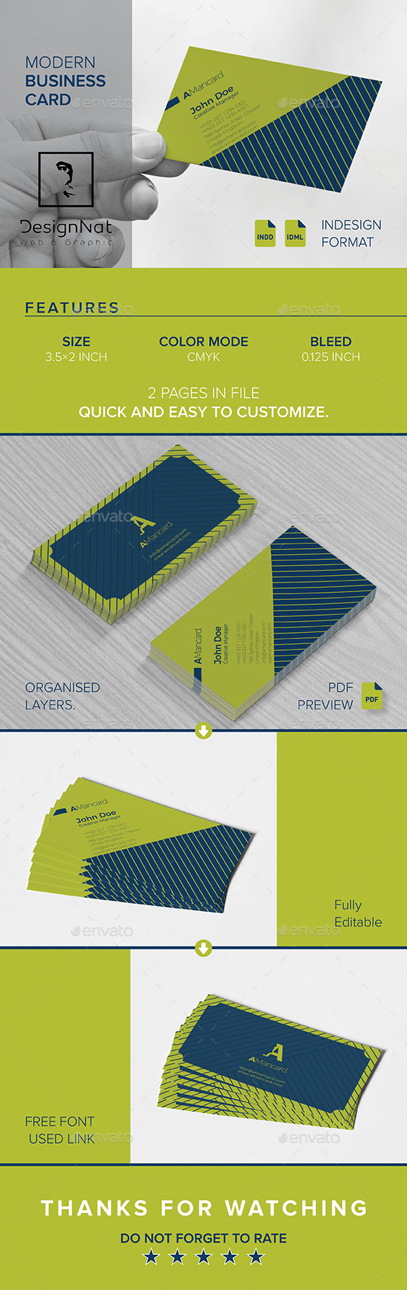 GraphicRiver Business Card 20849314