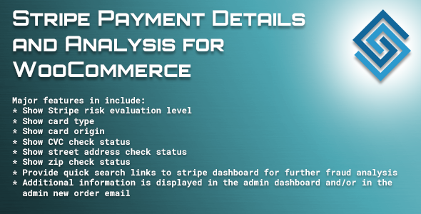 CodeCanyon Stripe Payment Details and Analysis for WooCommerce 19621707