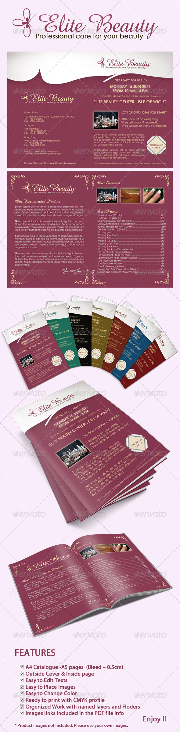 Elite Beauty catalog - Corporate Brochures