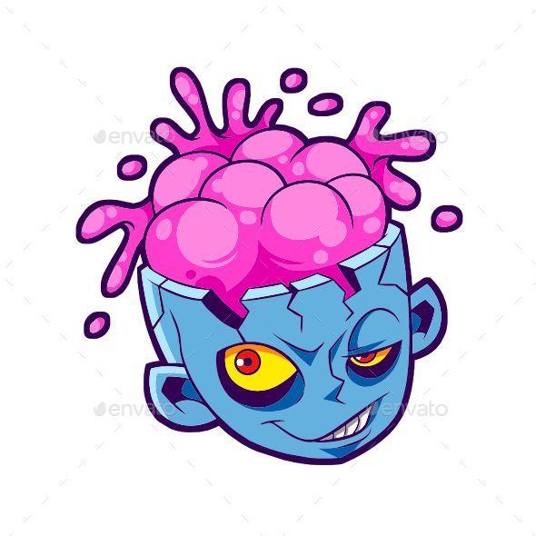 GraphicRiver Zombie Head 20849807