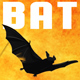 Single Bat Flying Flapping & Squeaking