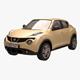 Nissan Juke 04 Yellow