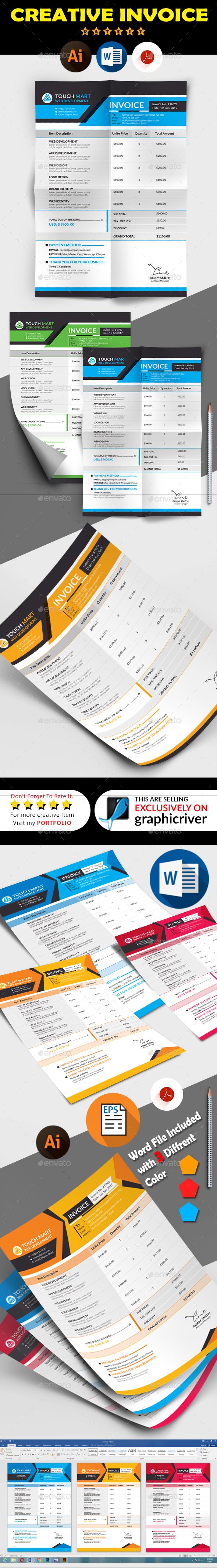 GraphicRiver Invoice Bundle 20849840