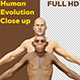 Human Evolution Close Up - VideoHive Item for Sale