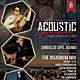 Acoustic Festival Vol.1 Flyer / Poster