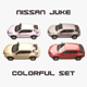 Nissan Juke Colorful Set