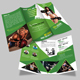Fitness/Gym Tri-fold Brochure Template