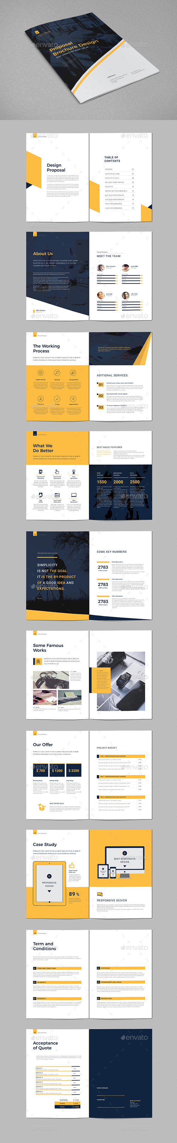 Proposal Brochure - Corporate Brochures