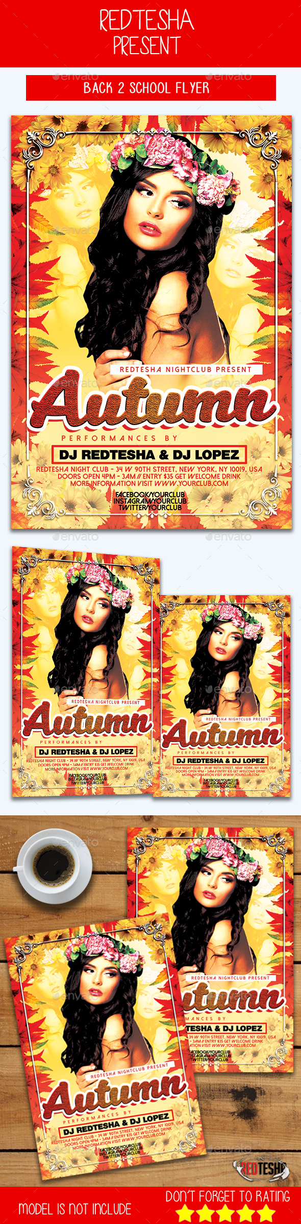 Autumn Season Flyer - Events Flyers