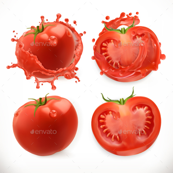 GraphicRiver Tomato Juice 20850696