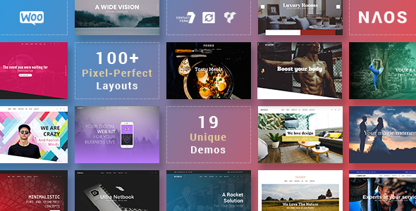 ThemeForest Naos Universal and Advanced WordPress Theme 20850818