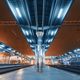 Modern futuristic railway station with illumination - PhotoDune Item for Sale