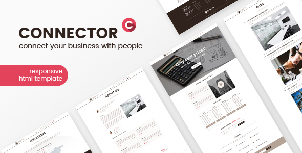 Download Connector - Hosting & Business HTML Template            nulled nulled version