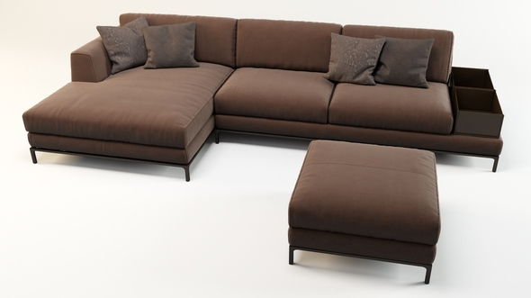 Sofa Ditre Italia - Artis leather - 3DOcean Item for Sale