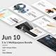 5 in 1 Bundle - Jun 10 Premium Powerpoint Template