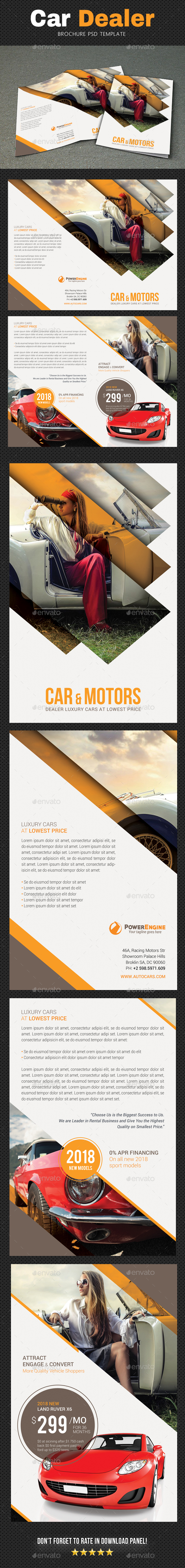 GraphicRiver Automotive Brochure 3 20851476