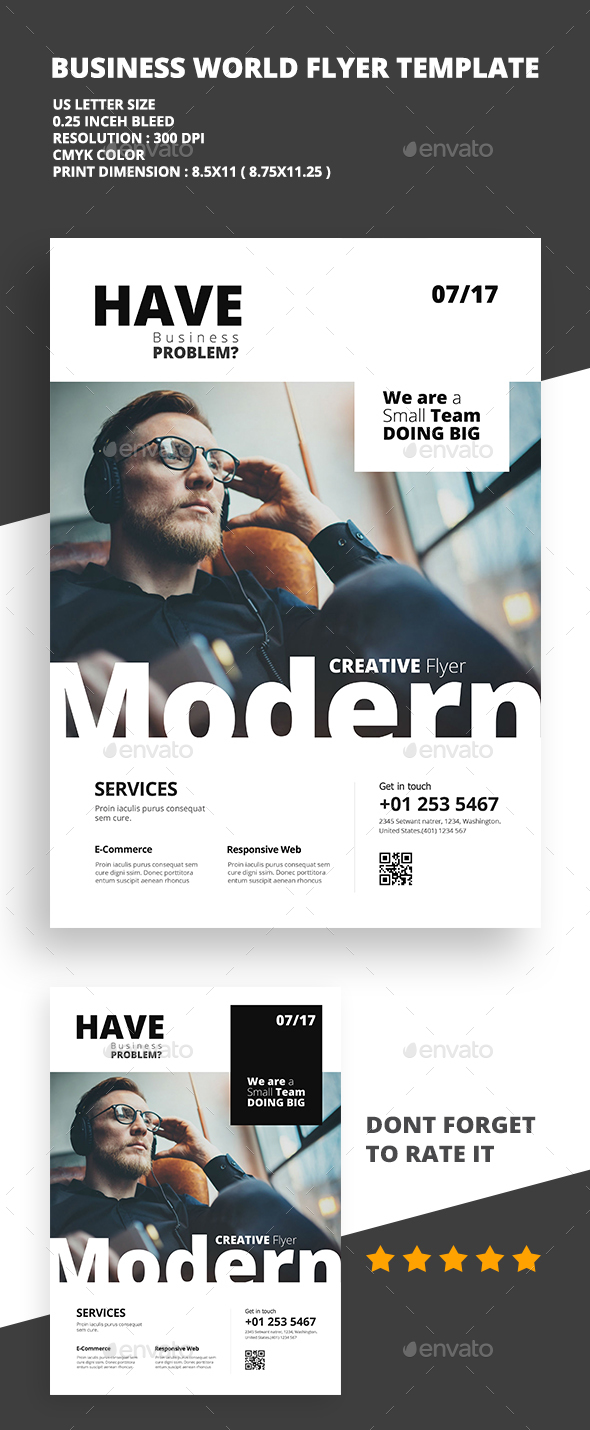 Modern Creative Flyer 01 - Flyers Print Templates