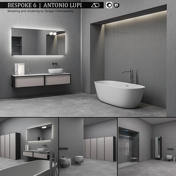3DOcean Bathroom furniture set Bespoke 6 20851757