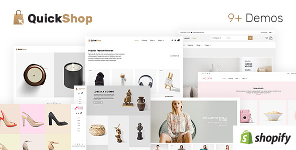ThemeForest Quick Shop Multi Purpose Sectioned Shopify Theme 20851818