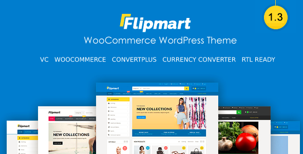 Image of Flipmart - Responsive Ecommerce WordPress
