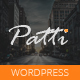 Patti - Parallax One Page WordPress Theme - ThemeForest Item for Sale