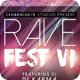Rave Fest Poster / Flyer