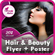 Hair & Beauty Flyer | Hair & Beauty Poster Templates
