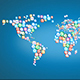 Social Media Icons - World Map - VideoHive Item for Sale