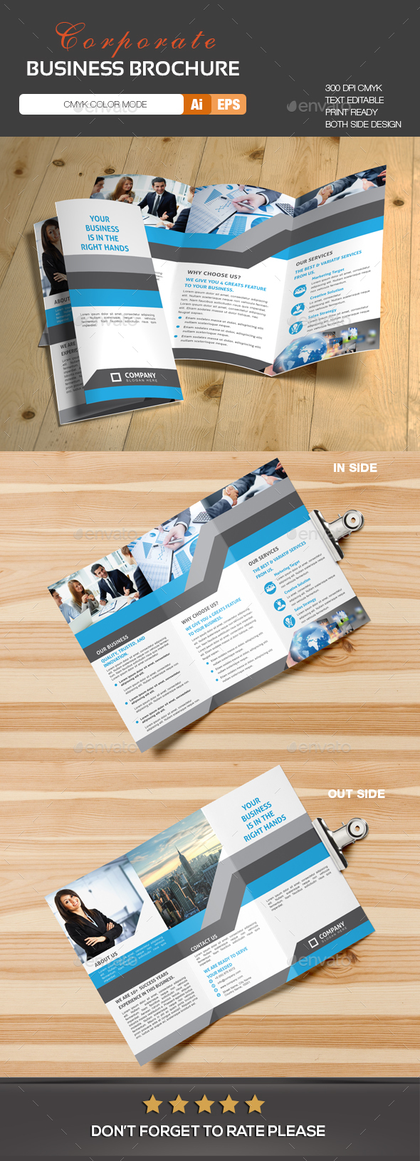 Trifold Brochure - Brochures Print Templates