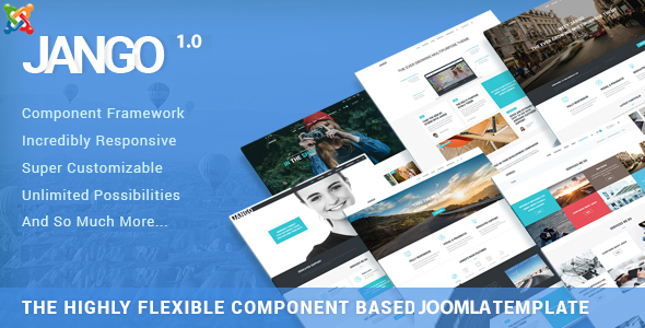 ThemeForest Jango Highly Flexible Component Based Joomla Template 20852357