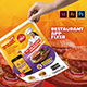 Restaurant App Flyer - GraphicRiver Item for Sale