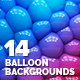 14 Balloon Backgrounds - GraphicRiver Item for Sale