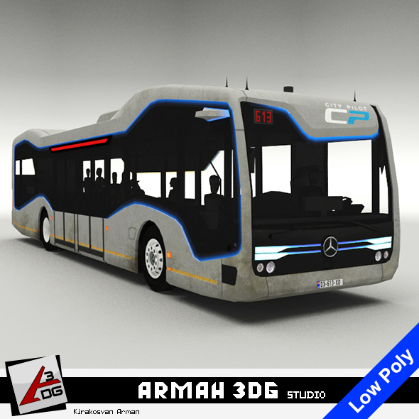 3DOcean Mercedes-Benz Future Bus 20852932