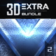New 3D Extra Light Text Effects Bundle Two - GraphicRiver Item for Sale