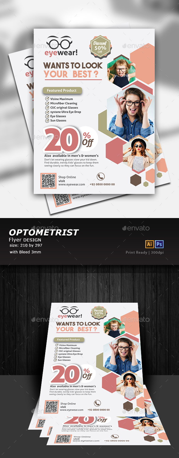 GraphicRiver Optical Flyer 20853101