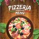 Pizzeria Menu (A4)