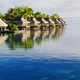 Amazing tropical resort with huts over water - PhotoDune Item for Sale