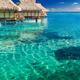 Water villas over tropical reef - PhotoDune Item for Sale