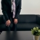 Businessman Waiting for a Meeting on the Couch - VideoHive Item for Sale