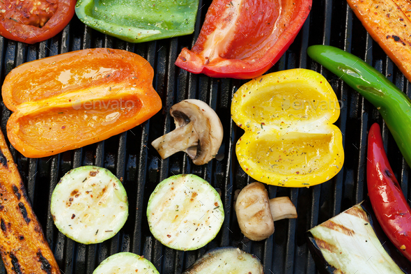 Grilled vegetables - Stock Photo - Images