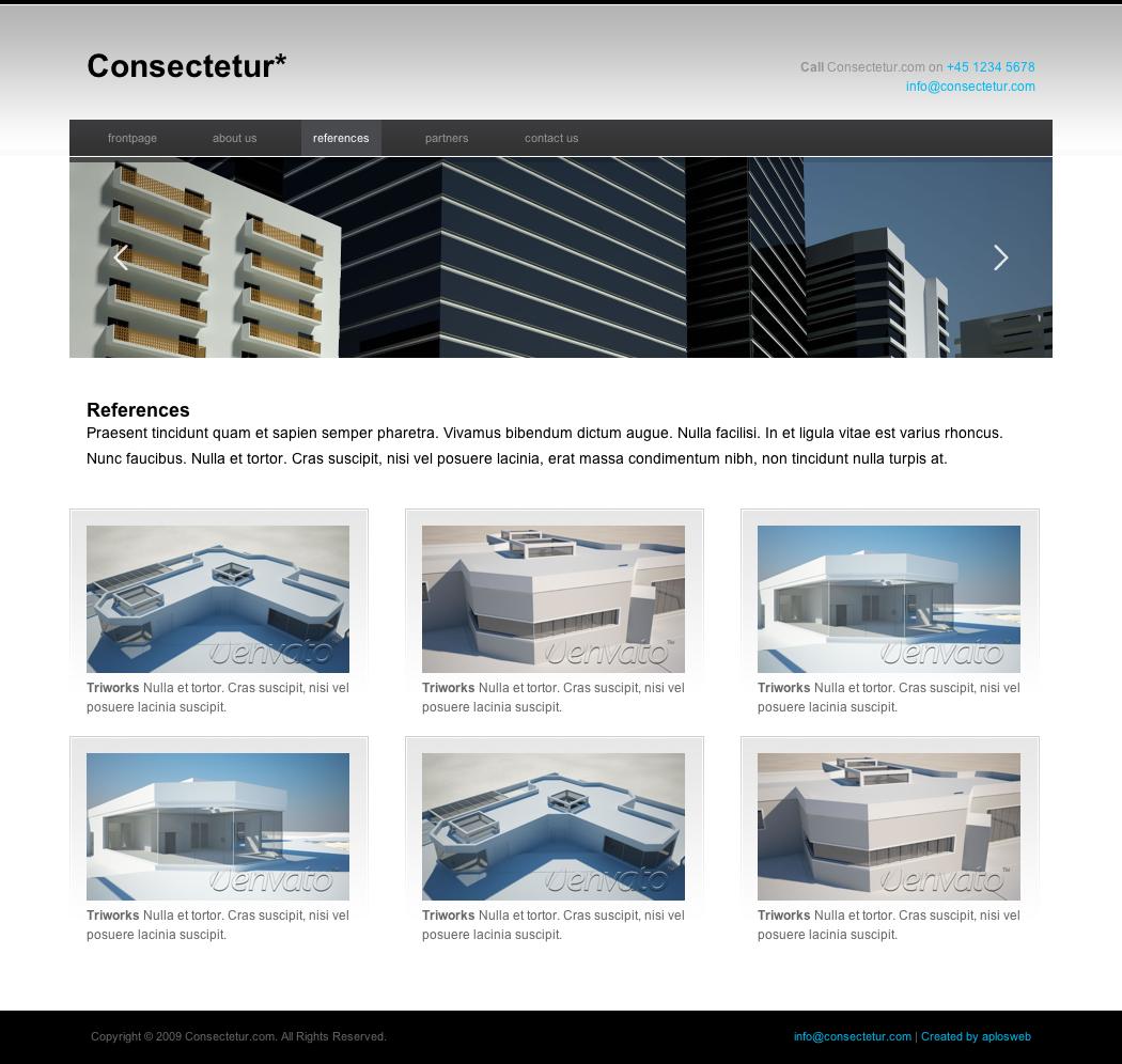pr portfolio template - consectetur business portfolio template by kchristensen