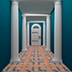 Corridor With Columns - VideoHive Item for Sale