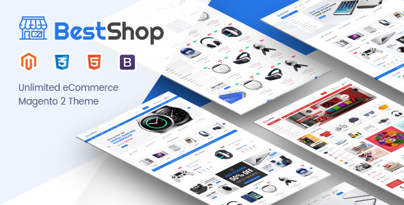 Download BestShop - Responsive Hitech Magento 2 Theme            nulled nulled version
