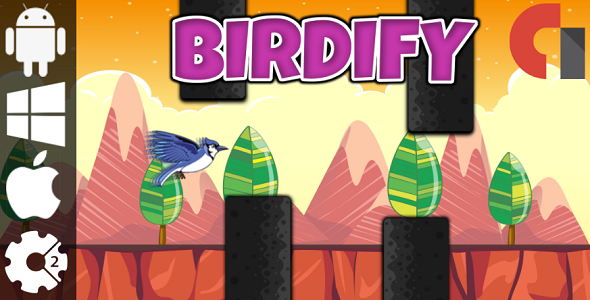 Source code              Birdify – HTML5 Game + Admob (Construct 2 – CAPX)            nulled