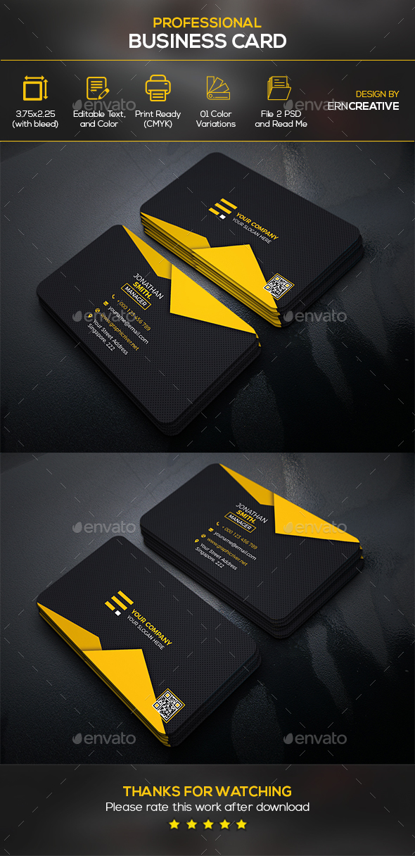 Business Card 4 - Business Cards Print Templates