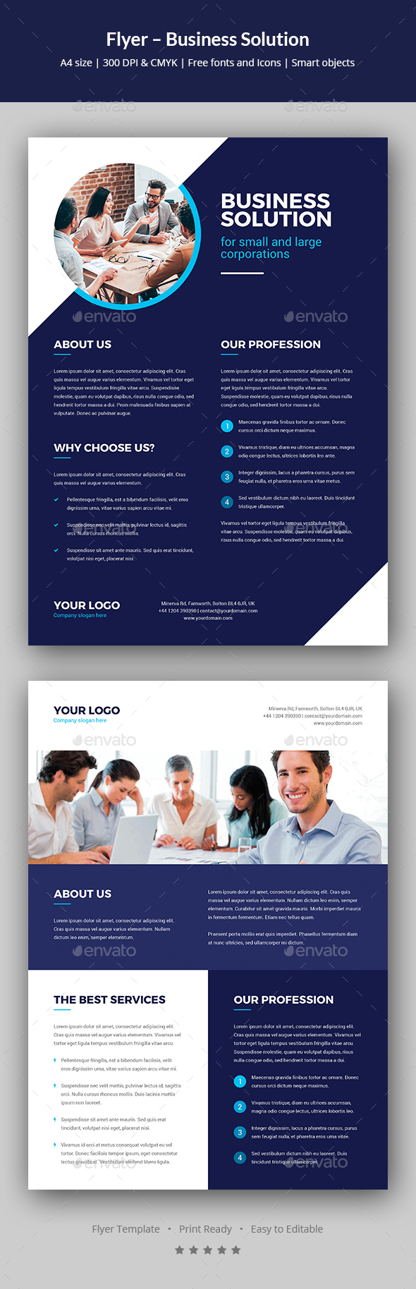 GraphicRiver Flyer Business Solution 20854776