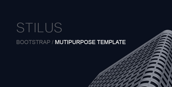 Stilus - Multipurpose Template Bootstrap 4
