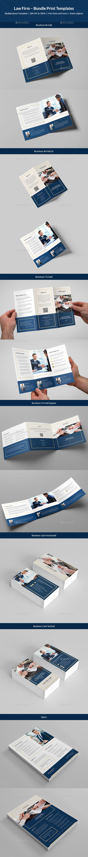 Law Firm – Bundle Print Templates - Corporate Brochures